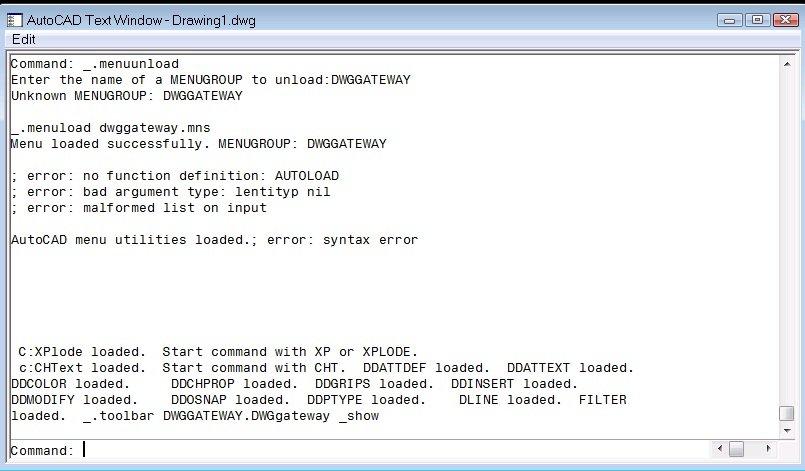 Lỗi khi áp Lisp - AutoLisp - Diễn đàn CADViet