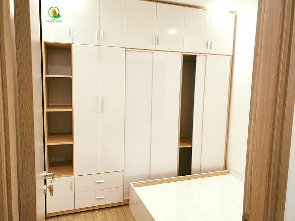 Nội thất được làm từ gỗ nhựa sinh thái